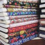 chintzy floral fabrics