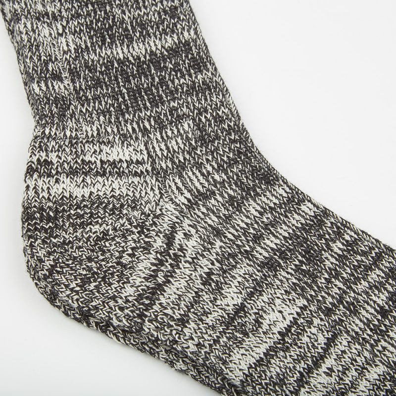 Flecked Black Sock.
