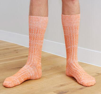 fleck-sock-orange-lifestyle