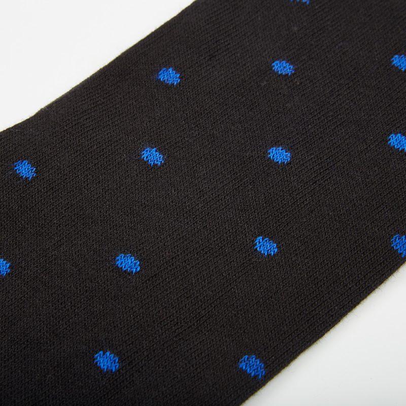 Black Polkadot socks.