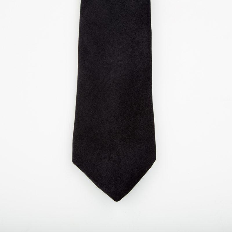 Jet Velvet Tie.