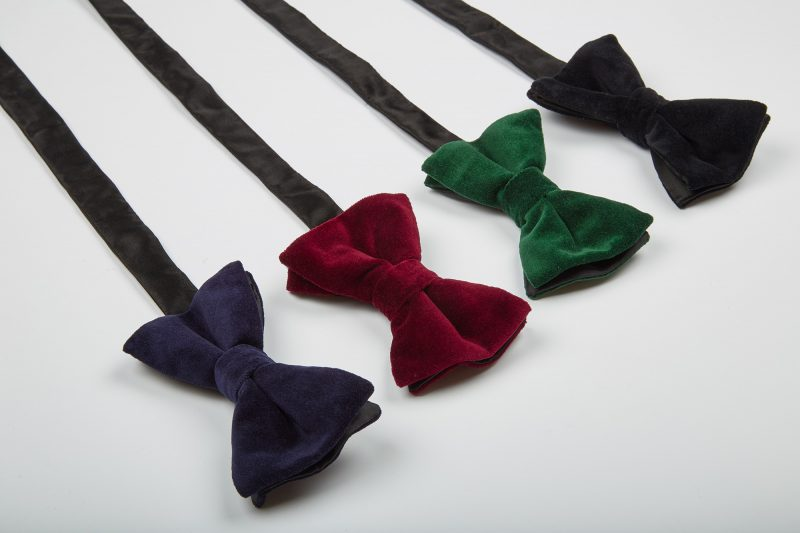 Velvet Bow-Ties from Dancys online.