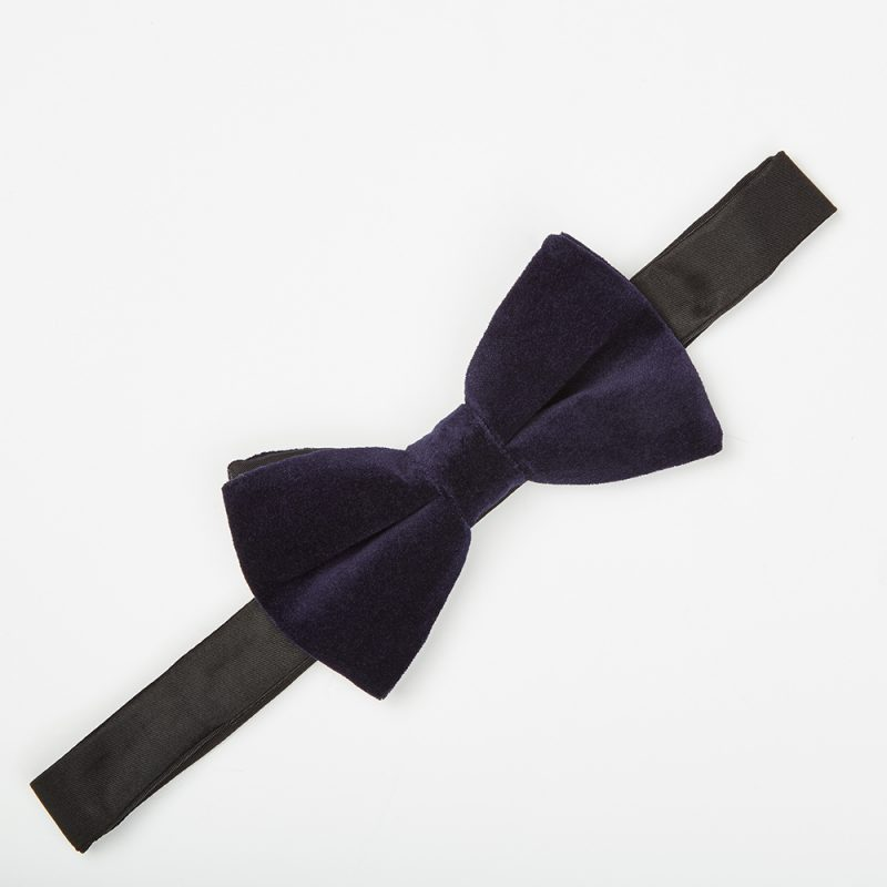 Midnight Velvet Bow Tie.