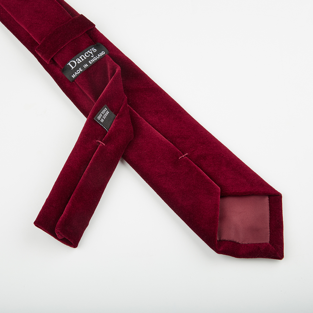 53781728a38c Men s Wine Velvet Tie