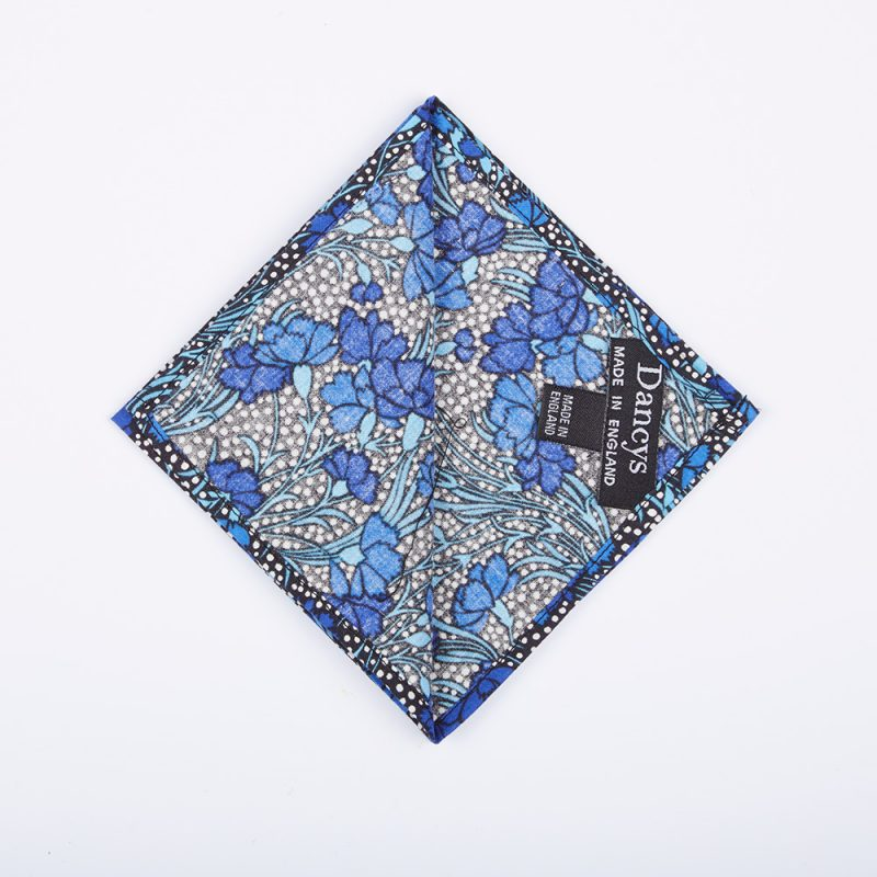 The Charlie Floral Pocket Square.