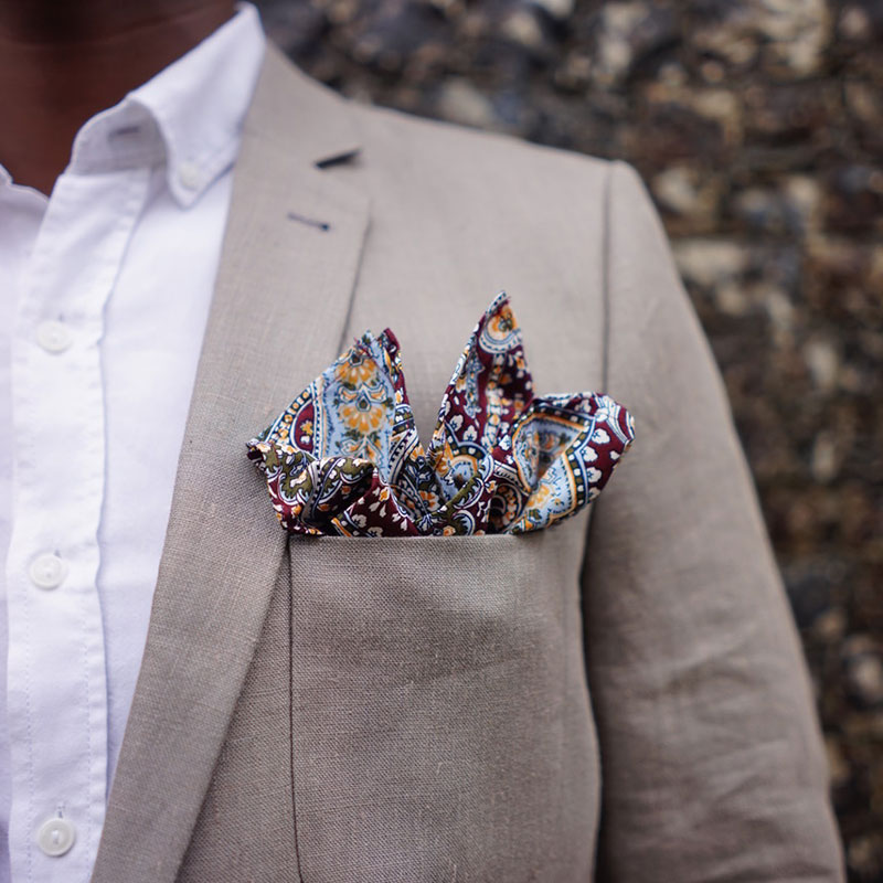 Winston Pocket Square